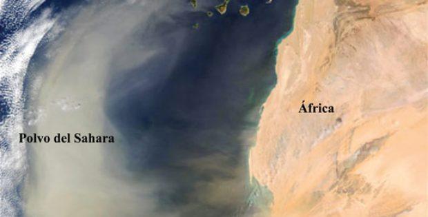 Polvo de Sahara