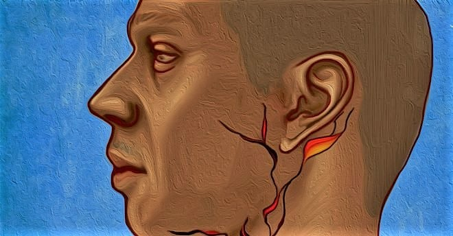 bulto detrás de la oreja